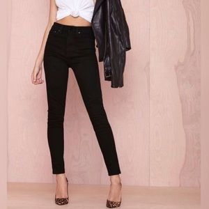 Nasty Gal black jeans 26